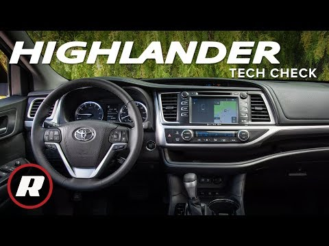 tech-check:-2019-toyota-highlander's-entune-system-is-behind-the-times