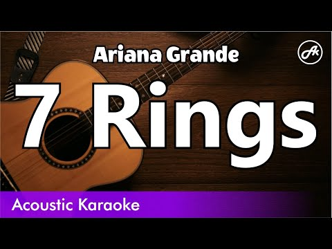 Ariana Grande - 7 Rings (Chill Acoustic Cover With Lyrics)