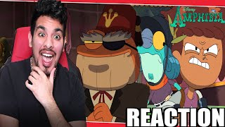 Crossover ! Amphibia S2 Ep 5: Swamp & Sensibility/Wax Museum Reaction