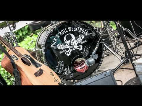 William T & The Black 50 's - Rock'n'Roll Weekender Walldorf - Pool Party 2018