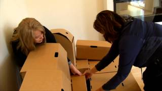 Cardboard Furniture - Shaw Tv Victoria