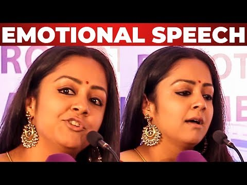 """""""My Mom Was Not Happy"""" Jyothika Emotional Speech about her MOM at SIMS ROBOTIC SURGERY EVENT"""