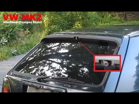 how to install backup rear view camera in original car. Black Bedroom Furniture Sets. Home Design Ideas