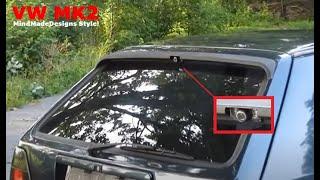 Install a Rear View Reverse Backup Camera