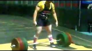 Андрей Иванец. Становая тяга. 355 кг без экипировки