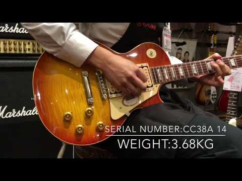 "Gibson Custom / Collector's Choice #38  ""Chicken shack Burst"""