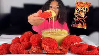POPULAR HOT CHEETO FOODS  LOBSTER TAILS  CHICKEN  ONION RINGS  PICKLES