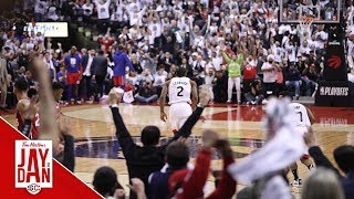 Armstrong, Rautins describe chaotic aftermath of Kawhi's buzzer beater