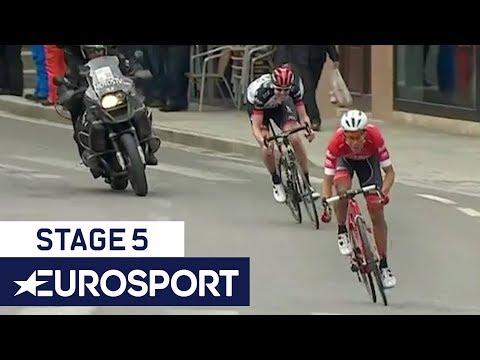 Volta a Catalunya 2018 | Stage 5 Final Kilometre | Cycling | Eurosport