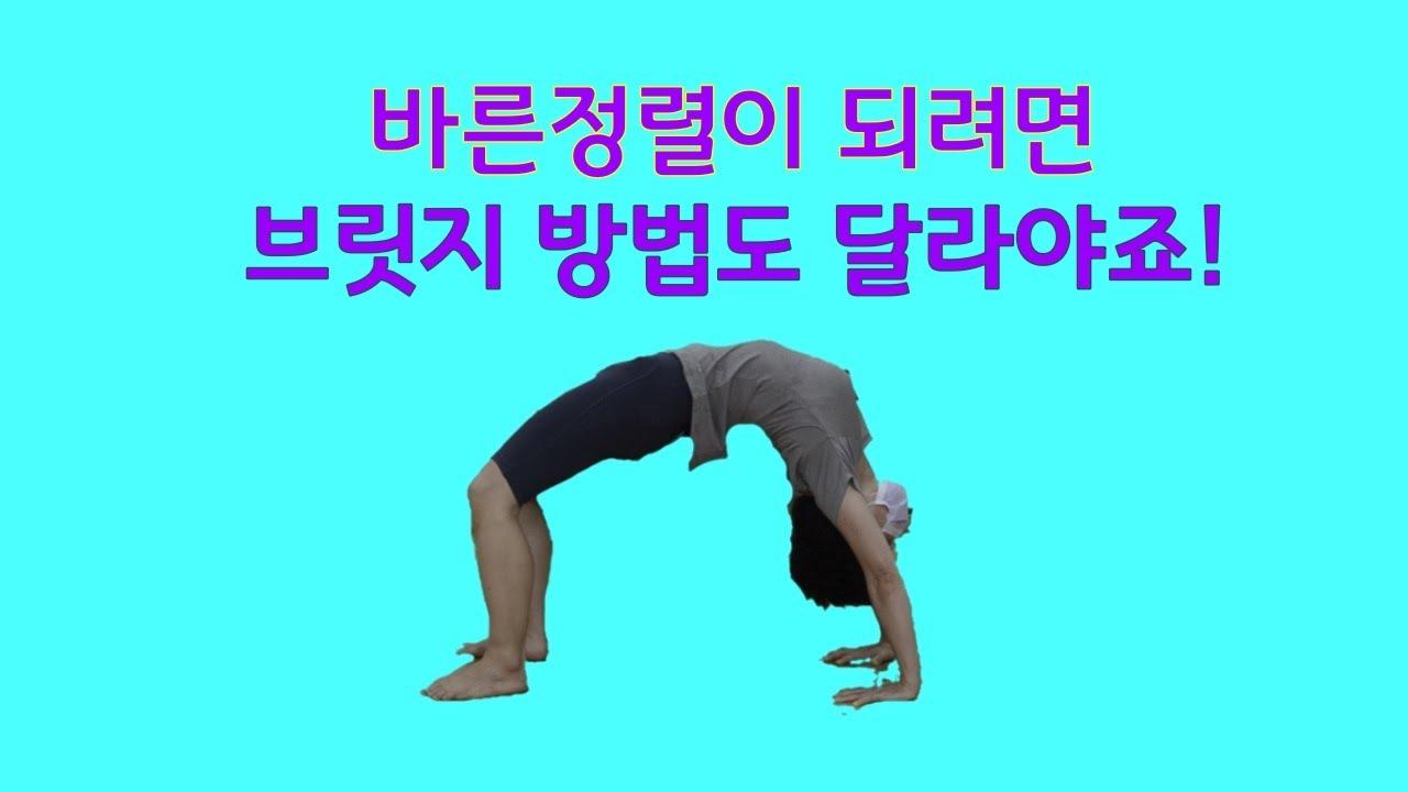 [ 골반이 살아야 가능한 브릿지 ] 좌골, 장골, 치골의 에너지 방향을 충분히 확장한 브릿지 / 바른자세를 만들고 유지하는 에너지