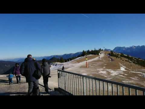 Family Trip to the Wank (Mountain near Garmisch-Partenkirchen, Bavaria)