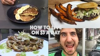 One of Brothers Green Eats's most viewed videos: How To Live On $3 a Day | One Dollar Meals | Day One |