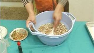 Making Healthy Oatmeal Bars : Adding Coconut To Mixture For Oatmeal Bars