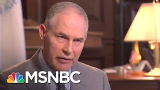President Trump Denies Considering Scott Pruitt To Replace AG Sessions | The Last Word | MSNBC