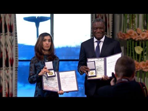 THE 51% - Nobel Peace Prize winners demand global action on mass rape