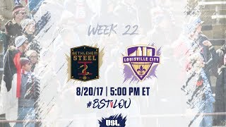 Bethlehem Steel FC vs Louisville City FC full match