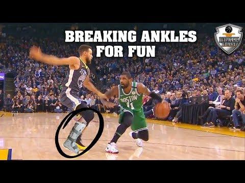 "NBA ""BROKEN ANKLES"" Moments"