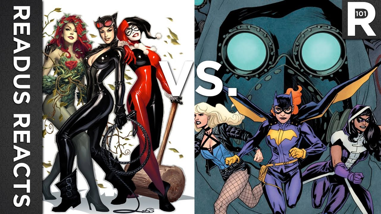 Gotham City Sirens Vs Birds Of Prey Which Is Being Made Readus 101 Youtube