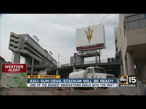 ASU: Sun Devil stadium will be ready
