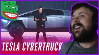 Forsen Reacts To Tesla Cybertruck Event In 5 Minutes