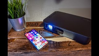 the Super Portable 1080P Wireless Projector you can take Anywhere  Optoma LH160