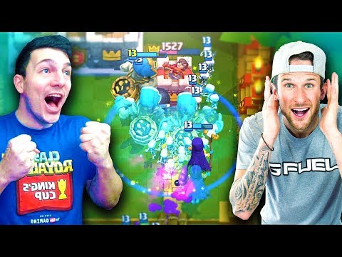 YOU WANTED THIS! NICK & MOLT CRAZY CLASH ROYALE 2v2 DECK!!