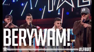Download Lagu BERYWAM  | live final | France's got talent 2018 mp3