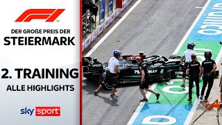 Strafe für Bottas wegen Dreher? | 2. Freies Training - Highlights | Preis der Steiermark