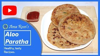 Aloo Paratha in Odia   ଆଳୁ ପରଟା   Dhaba Style Alu Paratha Odia Recipe