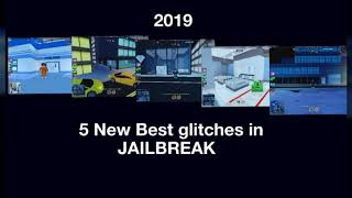5 Best New Glitches in Jailbreak (Roblox 2019!)