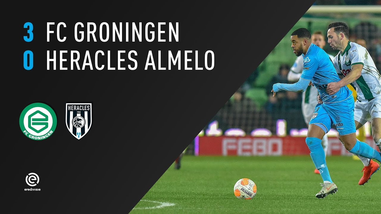 FC Groningen - Heracles Almelo | 19-01-2019 | Samenvatting