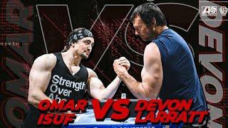DEVON LARRATT vs OMAR ISUF (How To Dominate Any Arm Wrestling Match)
