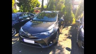 Toyota Avensis III Facelifting 147hp acceleration 0-100km/h