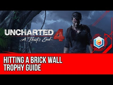 Uncharted 4 Hitting a Brick Wall Trophy Guide (Chapter 10) Defeat 5 armored enemies with melee only