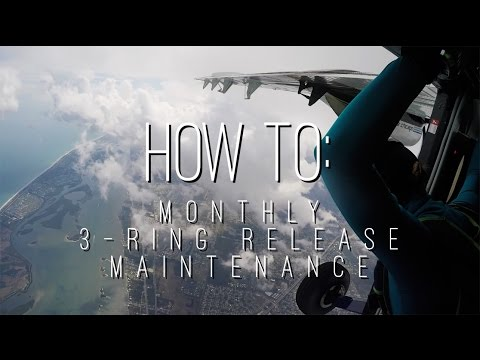 How To Maintain Your 3-Ring Release System   Skydiving Life 008