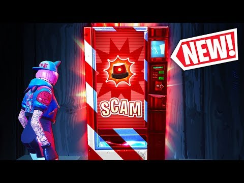 *NEW* SCAM VENDING MACHINE!! - Fortnite Funny WTF Fails and Daily Best Moments Ep.1022
