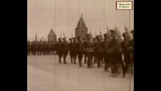 Кинохроника начала XX века. Юнкера Российской Империи.