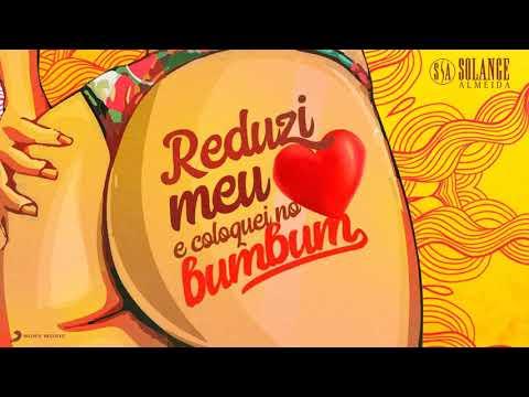 Solange Almeida- Reduzi meu coração e coloquei no bumbum nova música
