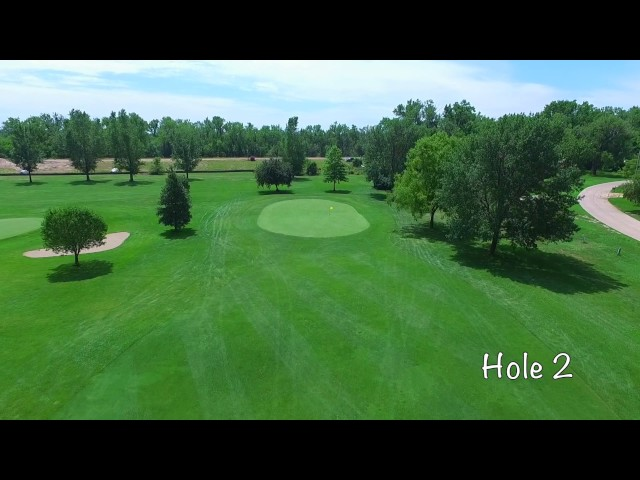 Vanberg Golf Course - Columbus, NE - Aerial Tour