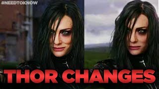 Thor Ragnarok Deleted Scenes and CHANGES! #NeedtoKnow