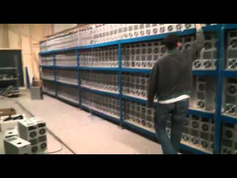 One of Mining Farms in Action
