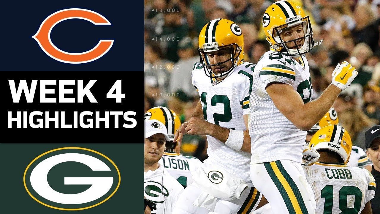 Bears vs. Packers: What to Watch 4
