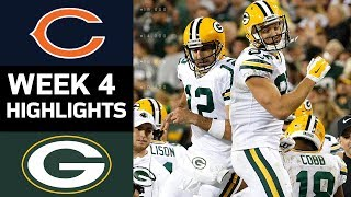 Bears vs. Packers | NFL Week 4 Game Highlights thumbnail