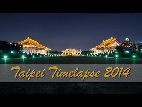Taipei Timelapse - Holiday Travel Video 2014