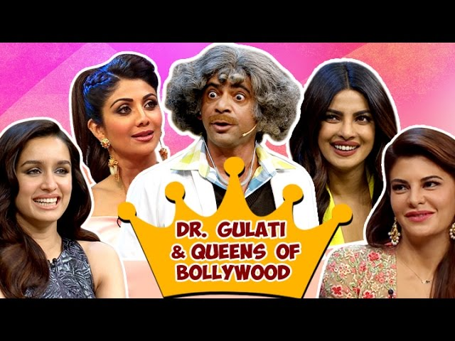 Dr. Gulati and Bollywood Queens |  Best Indian Comedy | The Kapil Sharma Show #1