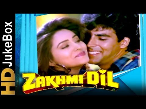 Zakhmi Dil 1994 | Full Video Songs Jukebox | Akshay Kumar, Ashwini Bhave, Ravi Kishan, Raza Murad