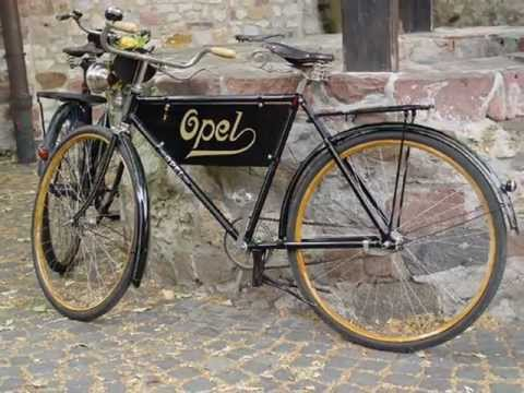 Opel Fahrr 228 Der Bicycles 1886 1937 Youtube
