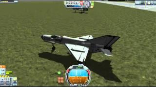 KSP AI Combat Mig 21 vs Mig 19