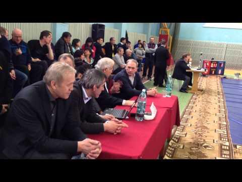 Первенство Сибирского Федерального Округа среди юношей 1997-1998 г.р. г. Назарово (часть 1)