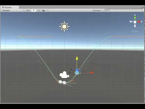 Constraining Physics Along A Spline In Unity
